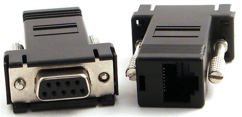 RJ45 to DB9 Female Straight Adapter Cisco Pinout