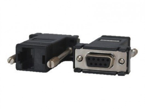 Adapter RJ45-DB9F DCE crossover