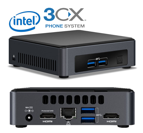 3CX Hardware PBX with Professional edition ANNUAL license, 4SC