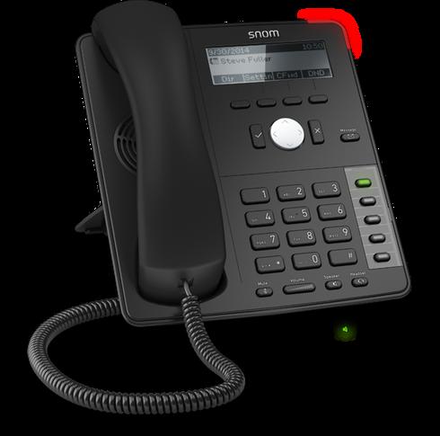 SIP Deskphone, 5-Button, 2 x Gigabit Ethernet, PoE