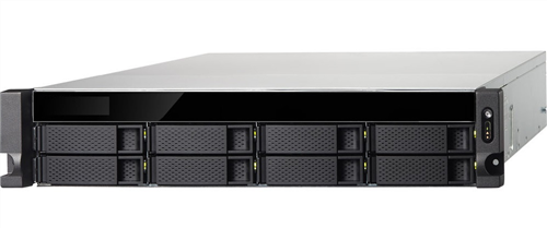 8-Bay Rackmount NAS for Network recording of IP Cameras