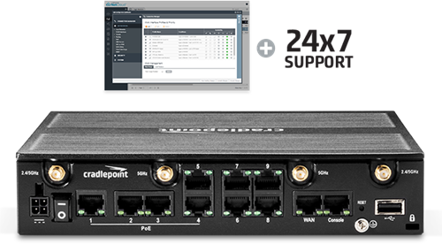 AER2200-600M-AU Branch Router, with 3yr NetCloud Essentials (PRIME)