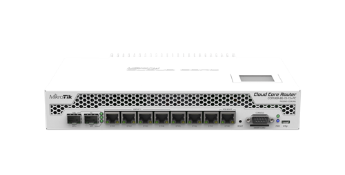 High Performance Router, 8 GigE, 1 SFP, 1 SFP+