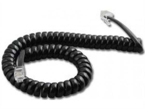 Spare Curly Cord for Yealink IP Phones - T26, T28, T4x series