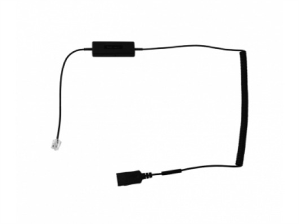 i12 Intelligent Cord, RJ plug to QD Curly Cord Adapter