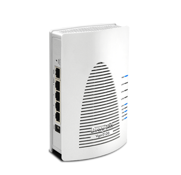UFB Router/Firewall, QoS, VPN, IPv6 Support, 4 x Gigabit LAN Ports