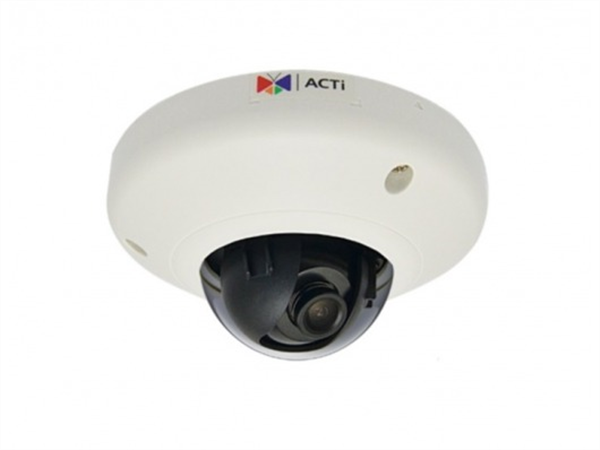 2MP Indoor Mini Dome Camera, WDR, SLLS, DNR, MicroSDHC/MicroSDXC, PoE, IK08