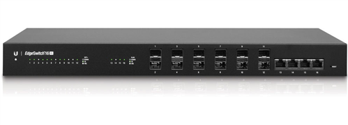 EdgeSwitch 16-Port 10Gbps Ethernet Managed Switch (SFP+ and RJ45)