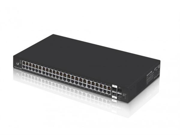 48-Port Gigabit Ethernet Managed Switch, 2 SFP Ports, SFP+ Ports
