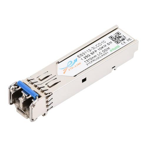 Gigabit SFP module, 1310nm Single-mode, 10KM range, LC connector