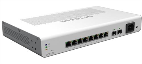 Insight Managed 8-Port Gigabit Ethernet PoE+ Switch, 195W