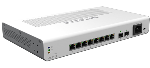 Insight Managed 8-Port Gigabit Ethernet PoE+ Switch, 134W