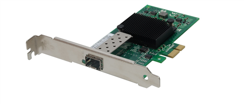 Gigabit Fiber PCIe Network Card with SFP slot