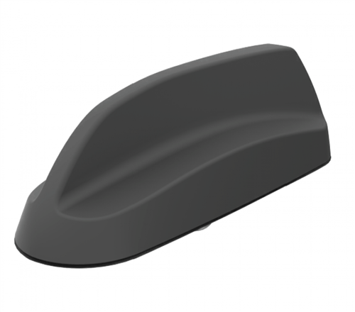 Shark Fin Antenna for Vehicles, 2 x Cellular (698-2700MHz), 1 x GPS