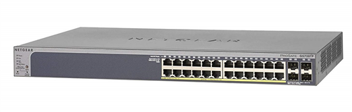 24-port Gigabit Smart PoE Switch, 802.3af and 802.3at (PoE+), 192W