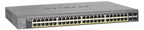 ProSafe 48-Port 10/100/1000 Mbps (Gigabit) Smart Switch, 2 shared SFP slots