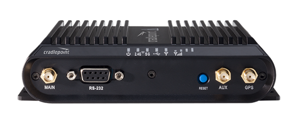 3G/4G LTE Rugged Router, 3x Ethernet, Serial Port