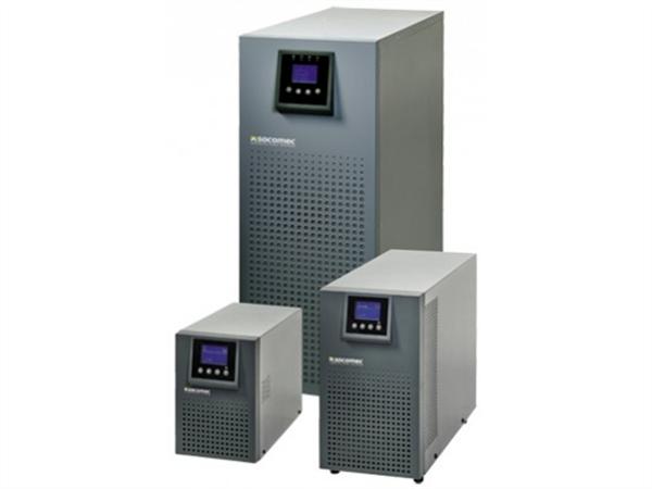 Socomec ITYS 1000VA / 800W UPS, online double conversion, Tower.