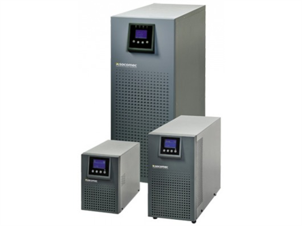 Socomec ITYS 6000VA / 5400W UPS, online double conversion, Tower, built-in Manual Bypass