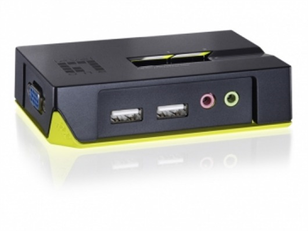 2-Port USB KVM Switch with Audio