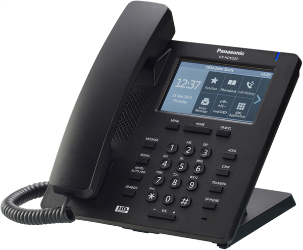 IP Phone, 12 SIP accounts, 4.3 inch colour TFT LCD with touch panel, 24 flexible function keys