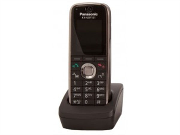 Compact SIP DECT Phone for KX-UDS124 Multicell DECT Base