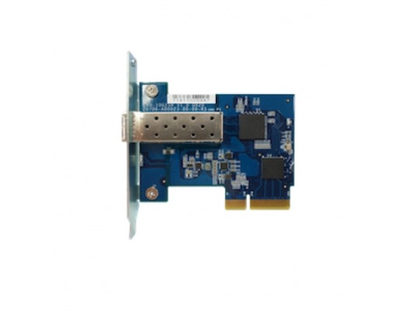 Single-port SFP+ network expansion card, rackmount bracket