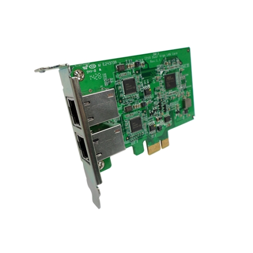Dual-port 1GbE network expansion card