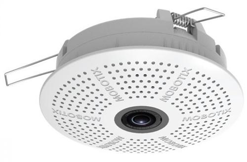 Indoor Ceiling Camera, 6MP colour image sensor, 103 degree lens, Audio