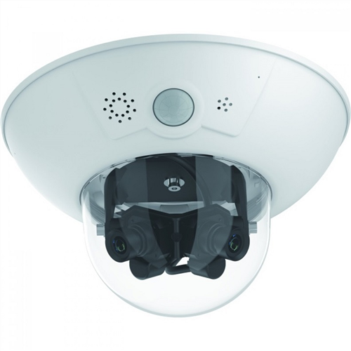 Outdoor 6 MP Dual Lens Dome IP Camera (Lenses ordered separately)