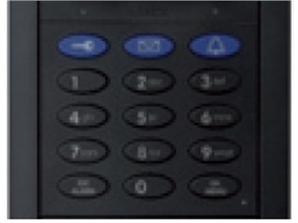 Keypad for T25 System with RFID Technology, Black