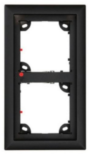 Double Frame, Black