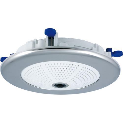 In-Ceiling Set Q2x/D2x/ExtIO, Stainless Steel Matt