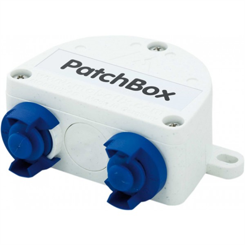 Universal network connector for installation cables, MOBOTIX patch cables and standard patch cables