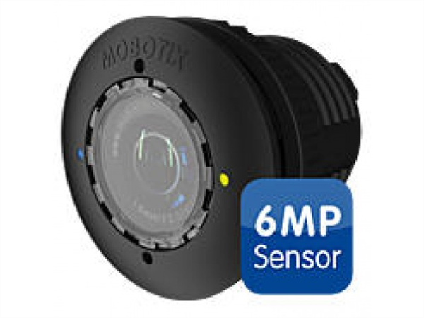S15D/M15D Sensor with HD premium lens, f/1.8, 90 degree, 6MP, IP66, Black