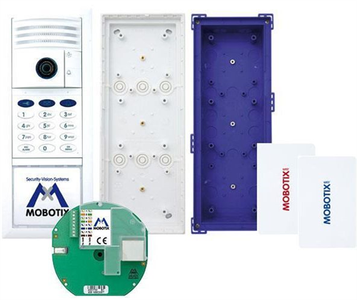 IP Video Door Station, 6MP Camera Kit, incl. Keypad etc. Silver