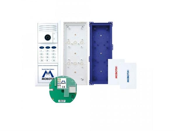 IP Video Door Station, 6MP Camera Kit, incl. Keypad etc. White