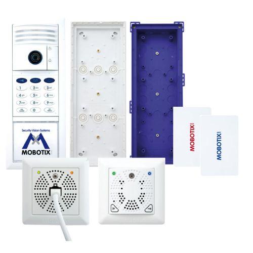 Door Station Set-2, 6MP Camera, Two-Wire, Keypad, DoorMaster, White