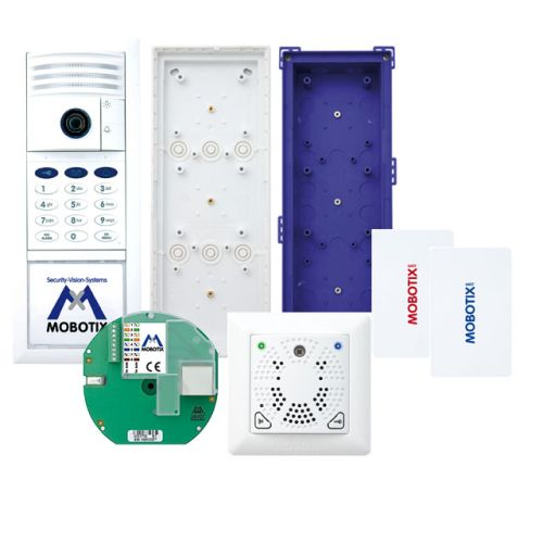T25 6MP Set 3, Ethernet, Keypad, DoorMaster, White