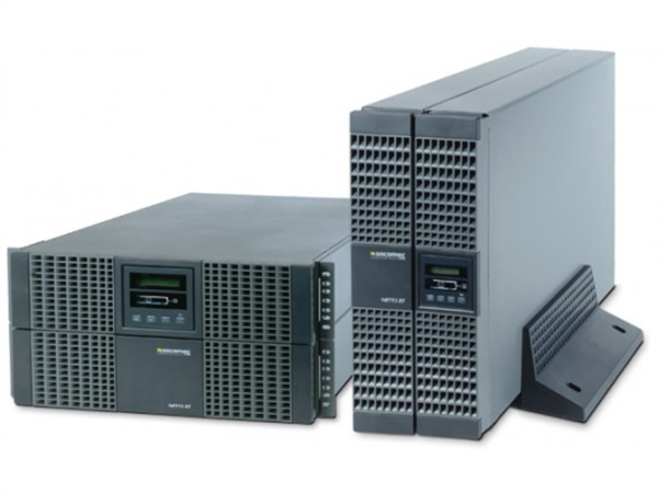 9000VA Double Conversion UPS, rack/tower convertible, compact, high power density