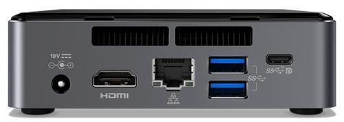 NUC Kit with Intel I3-7100U CPU, 8GB DDR4 RAM, 120GB M.2 SSD, no OS