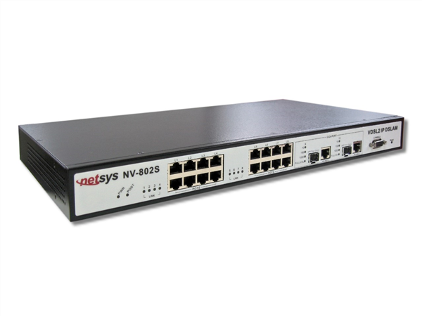8-port VDSL2 IP DSLAM