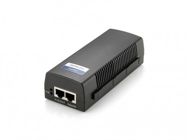 Power over Ethernet Injector, PoE+, 30W, 802.3af/at, 10/100/1000Mbps