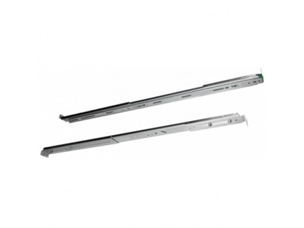 Rack Slide Rail Kit for 1U series models. For use with TS-439U, TS-459U, TS-419U, TS-412U, TS-410U, TS-469U series