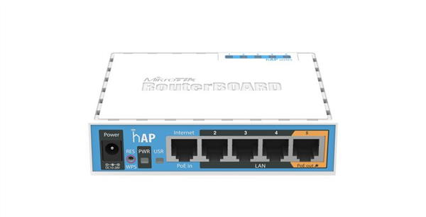 hAP High Power 802.11n Wireless Router