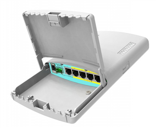 PowerBox Pro 5 Port Gigabit Outdoor PoE Router