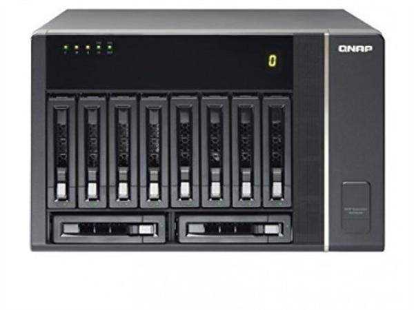 10-bay SAS/SATA/SSD RAID Expansion Enclosure for QNAP NAS Appliances, Tower Chassis