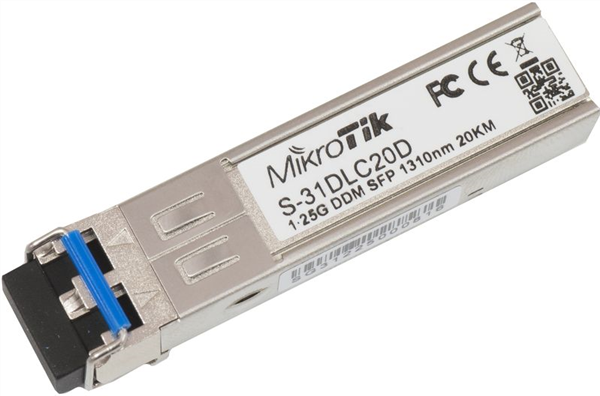 1.25G SFP Single-mode transceiver, LC connector