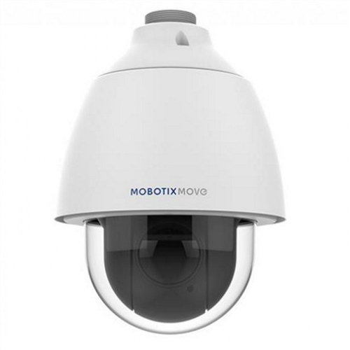 Outdoor Day/Night SpeedDome Camera, Varifocal Lens, 40x zoom, 200m IR Mobotix 'Move' Series IP Camera