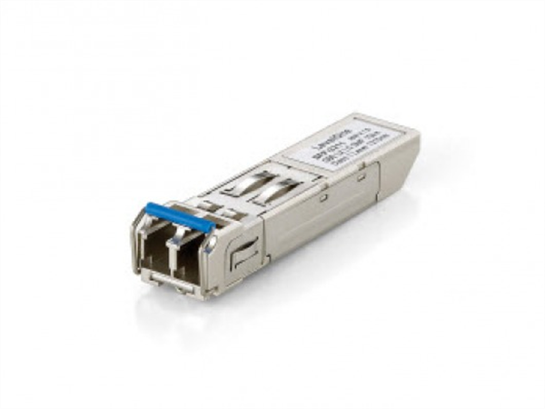 Gigabit Ethernet Single-mode SFP Transceiver, LX (10km) Duplex LC